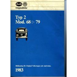Volkswagen Typ 2 mod. 68-79