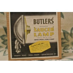 Strålkastare, Butlers saucer lamp