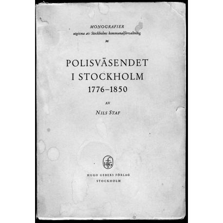 Polisväsendet i Stockholm 1776-1850